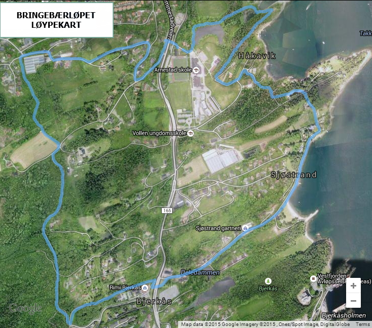 Bringebærløpet_kart